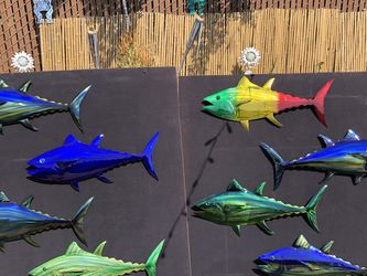 Metal Art Tuna By Akaidesignmetalworks for Sale in San Diego,  CA