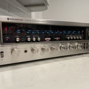 KENWOOD KR-9400 Stereo Receiver 120 Watts/channel Excellent for Sale in West Covina, CA