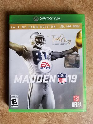 Madden NFL 19 Hall of Fame Edition - $25 for Sale in Phoenix, AZ