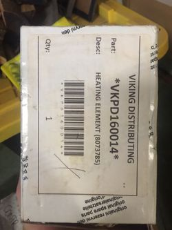Viking Heating Element #PD160014 for Sale in San Diego,  CA