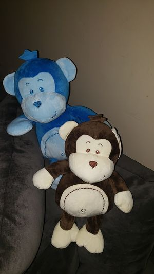 Cute monkey plush dolls, stuffed animals for Sale in Lynwood, CA