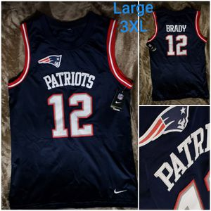 New England Patriots stitched jersey. NWT for Sale in Waco, TX
