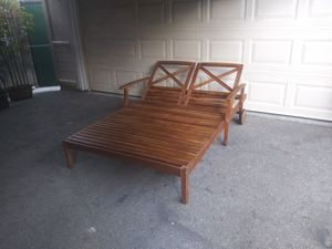 Outdoor patio chaise lounge chair for Sale in Los Angeles, CA