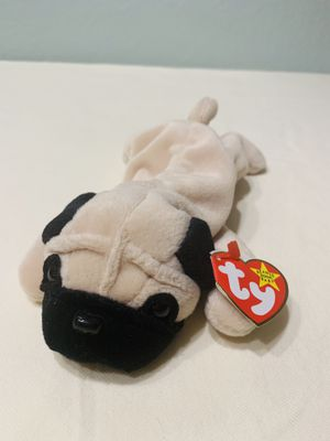 """""""Pugsly"""" the Pug Dog TY Beanie Baby 1996 Retired for Sale in Austin, TX"""
