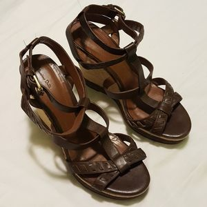 Massimo Dutti Roman Espadrille Wedge Sandals for Sale in Crandon, WI