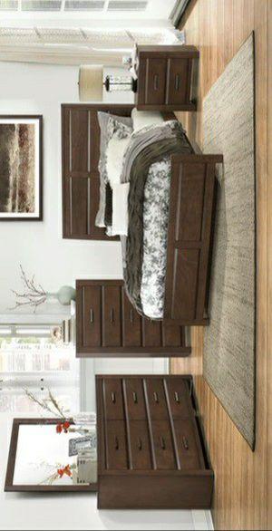 Erwan Espresso Panel Bedroom Set for Sale in Pflugerville, TX