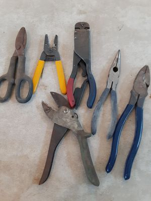 Tool lot #A. Pliers, snips, stripper's etc.. Porch Pick up in North Hagerstown Md. for Sale in Hagerstown, MD