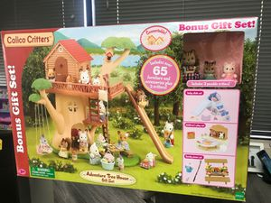 Calico Critters Adventure Tree House Gift Set| SKU# 68-182 for Sale in Santa Ana, CA