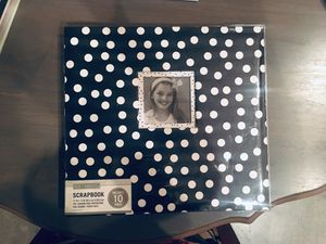 "10"" Scrapbook with Extra Materials for Sale in San Diego, CA"