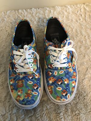 AUTHENTIC limited time Mario vans for Sale in Irvine, CA