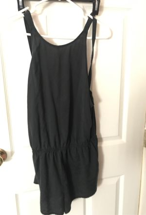 large black forever 21 romper with low back for Sale in Hemet, CA