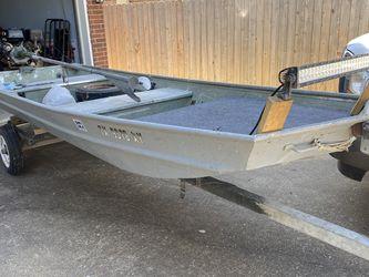 Jon Boat/Mud Boat for Sale in Deer Park,  TX