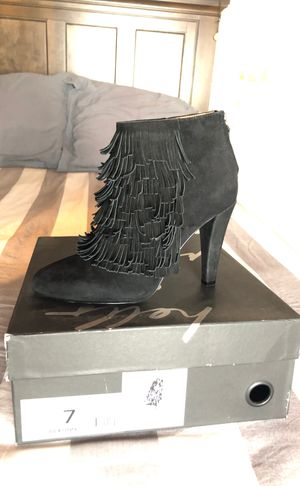 Black Fringe Boot Heels for Sale in Redwood City, CA