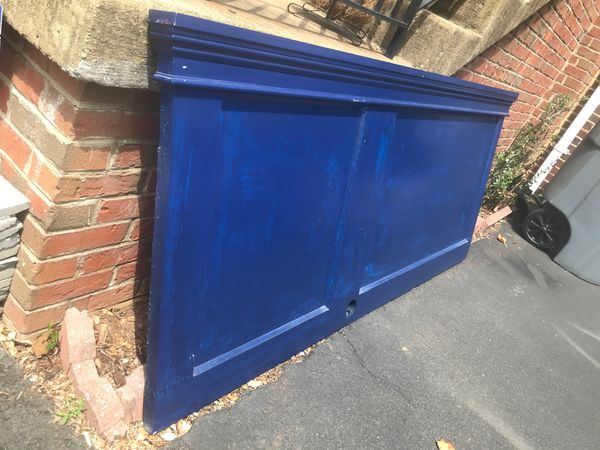 Antique Door headboard (Queen size)
