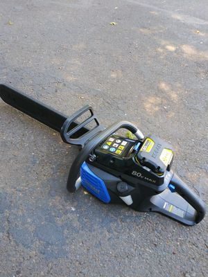 Brand New Kobalt 80 volt chainsaw kit for Sale in Keizer, OR
