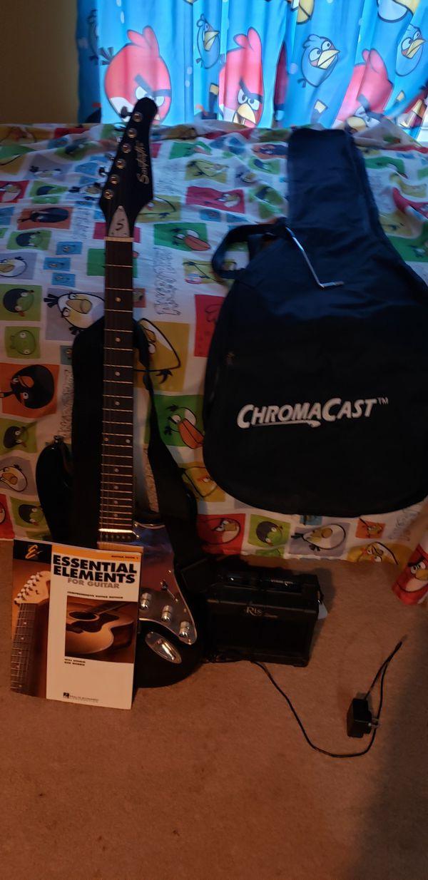 Sawtooth Rise Eletric Guitar