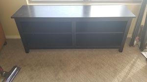Ikea Black Entertainment TV console table for Sale in Mesa, AZ