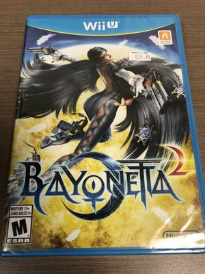 Bayonetta 2 brand new Nintendo WII U L@@K!!!! for Sale in Randolph Air Force Base, TX