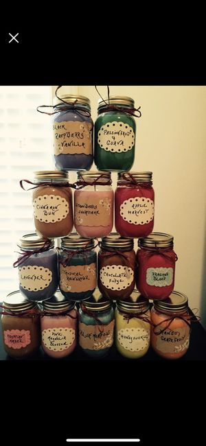 Homemade 16oz mason jar soy wax candles PICK YOUR SCENTS for Sale in Wake Forest, NC