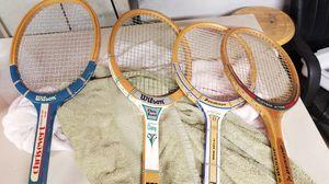 4 vintage tennis rackets for Sale in Salem, OR