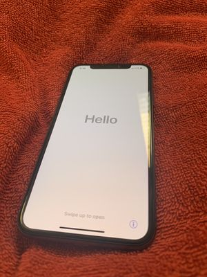 iPhone X 64GB Carrier Verizon black for Sale in South Gate, CA