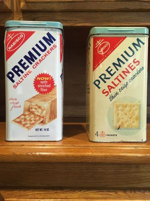 Nabisco saltine metal cans for Sale for sale  Levittown, PA