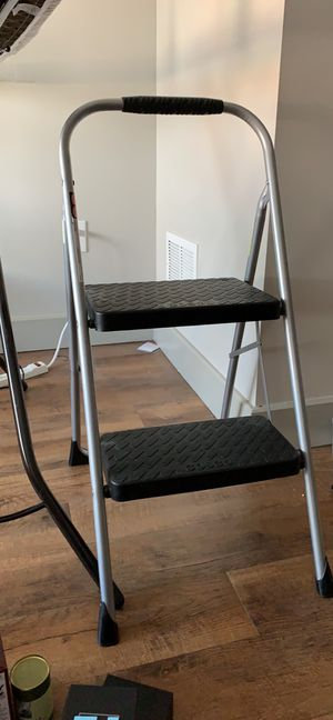 Barely used 2 step - step ladder (items added for scale) for Sale in Denver, CO