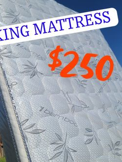 KING MATTRESS 🤴🏽 for Sale in Carson,  CA