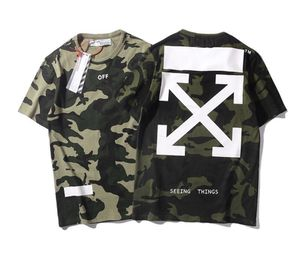 Off White Camo Arrows Shirt (With Bag) for Sale in Boston, MA