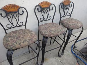 3 Bar Stools $20 each for Sale in Burbank, CA