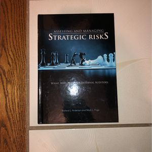 Assessing And Managing Strategic Risks Book for Sale in Orland Park, IL