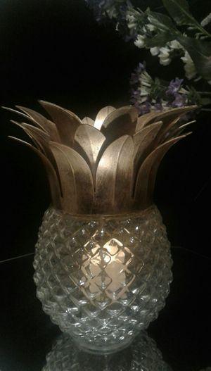 Decorative Pineapple Votive Holder for Sale in Greensboro, NC
