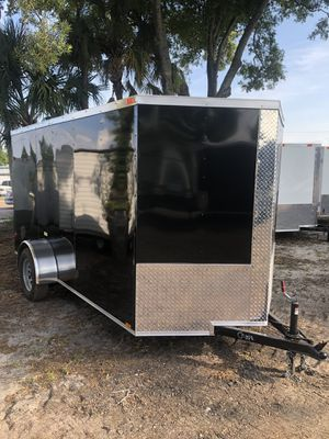 Enclosed trailer 6x12SA @ Brothers Trailers for Sale in Tampa, FL