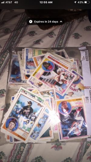 Baseball topps cards. 261 cards. Like brand new. Never used for Sale in Columbus, OH