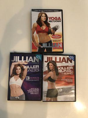 Jillian Michaels workout DVDs for Sale in Pembroke Pines, FL