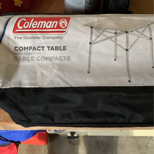 Coleman Folding Table for Sale in Seattle, WA
