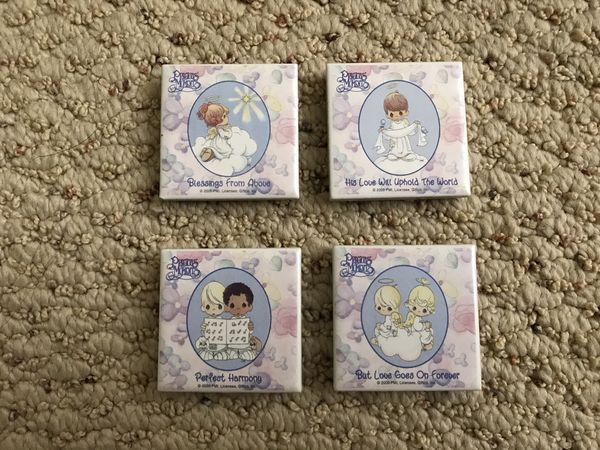 Collectible 4 Precious Moments Magnets