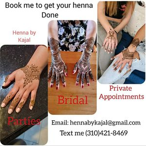 Henna Tattoos for Sale in Torrance, CA