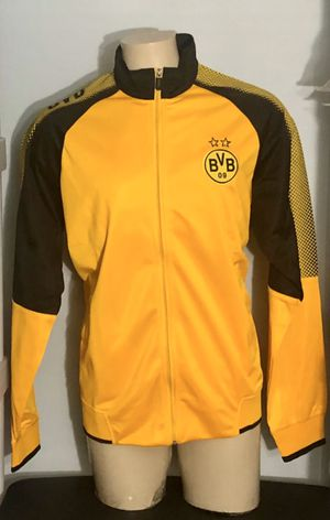 Borussia Dortmund Soccer jacket Adult Large. New for Sale in Miami, FL