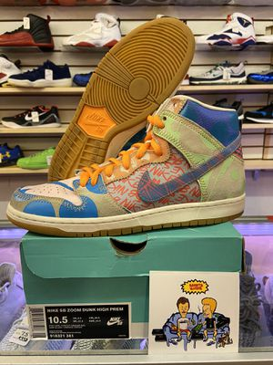 "Nike SB Dunk High ""What The Dunk"" for Sale in Bay Point, CA"