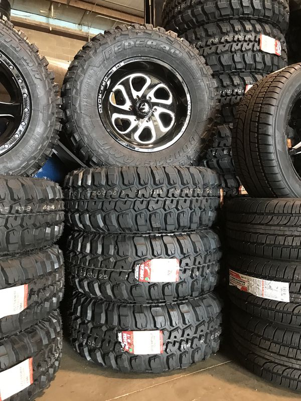 Ford F-150 Fuel Off Road Wheels and Tires Brand New