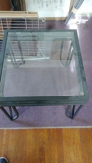 Glass end table for Sale in Oakland, CA