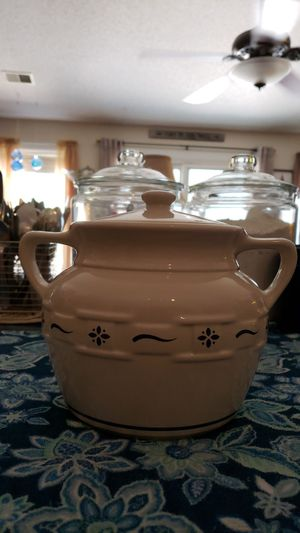 Longaberger cookie jar for Sale in Fountain Inn, SC