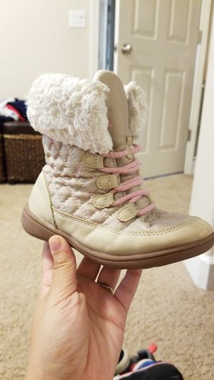 Carters girl boots 10c for Sale in Visalia, CA