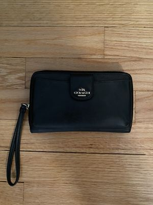 Coach Leather Wallet for Sale in Potomac, MD
