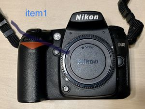 Nikon D90 DSLR with 3 Lens for Sale in Arcadia, CA