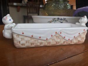 Vintage ceramic kitty cat dish for Sale in Gresham, OR