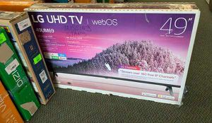 """NEW OPEN BOX LG UHD TV 49"""" EUKH for Sale in Fort Worth, TX"""