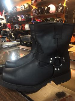 New leather motorcycle boots $80 for Sale in Santa Fe Springs,  CA