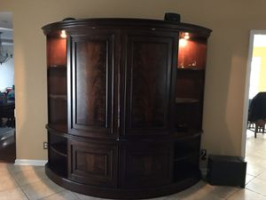 TV entertainment center for Sale in Raeford, NC